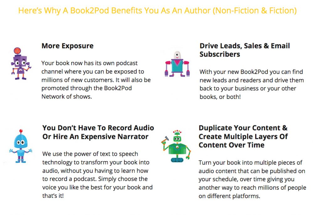 Turn Your Book Into A Podcast With Book2Pod – Author Marketing Institute